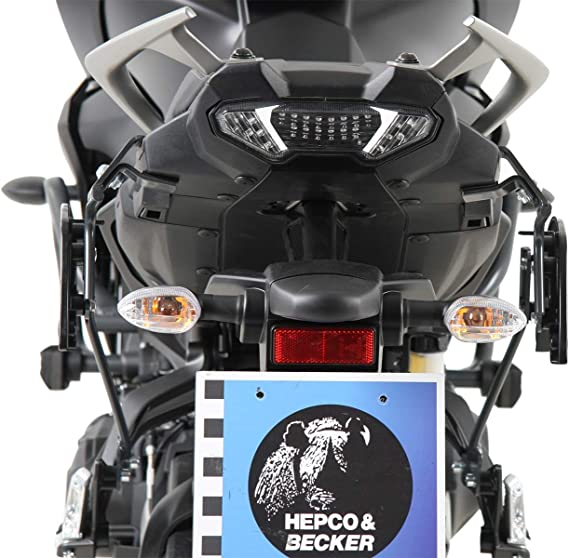 Hepco Becker C Bow Seitenträger Anthrazit Für Yamaha Tracer 900 Gt Ab 2018 Auto