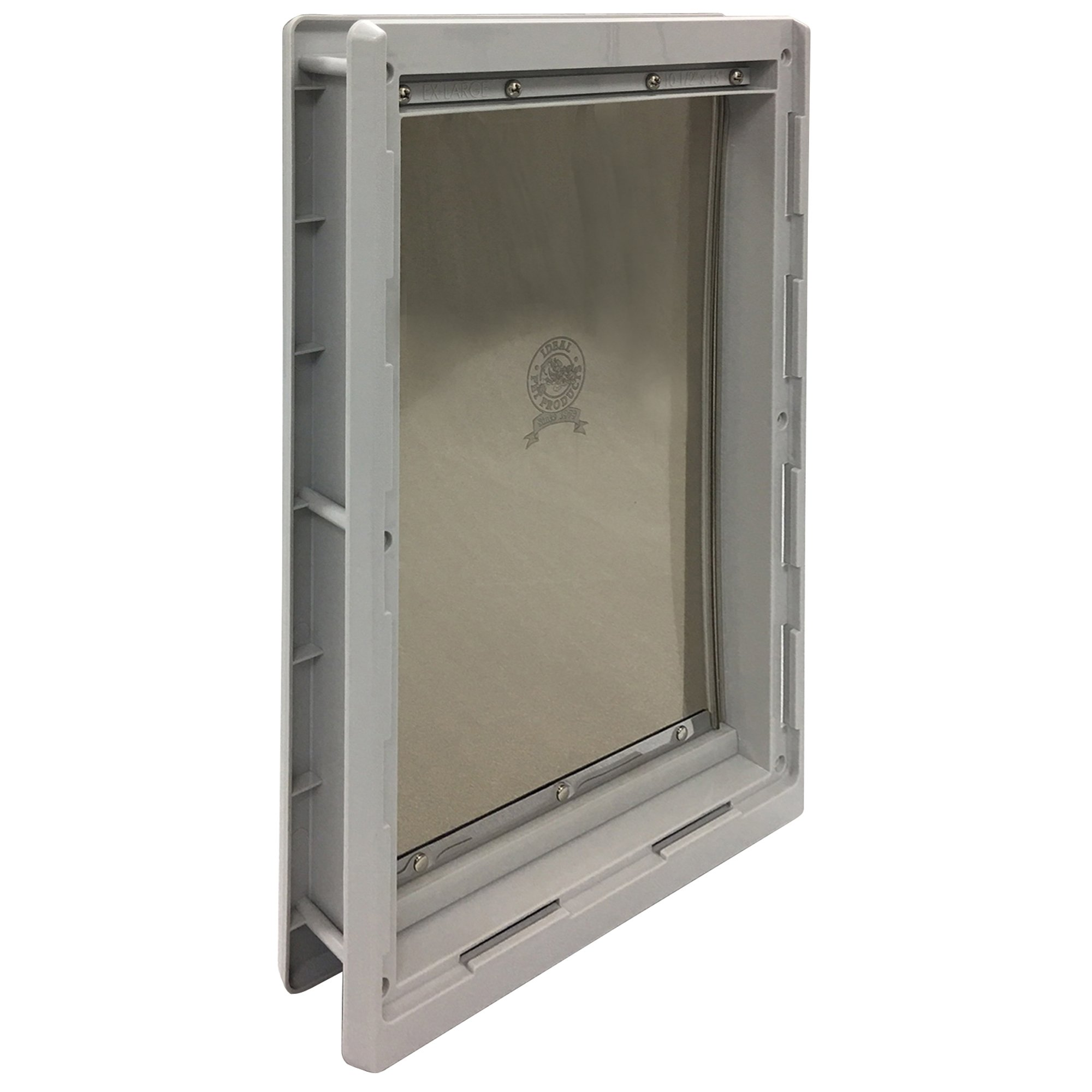 Ideal Pet Products Designer Series Plastic Pet Door with Telescoping Frame, Extra-Large, 10.5'' x 15'' Flap Size