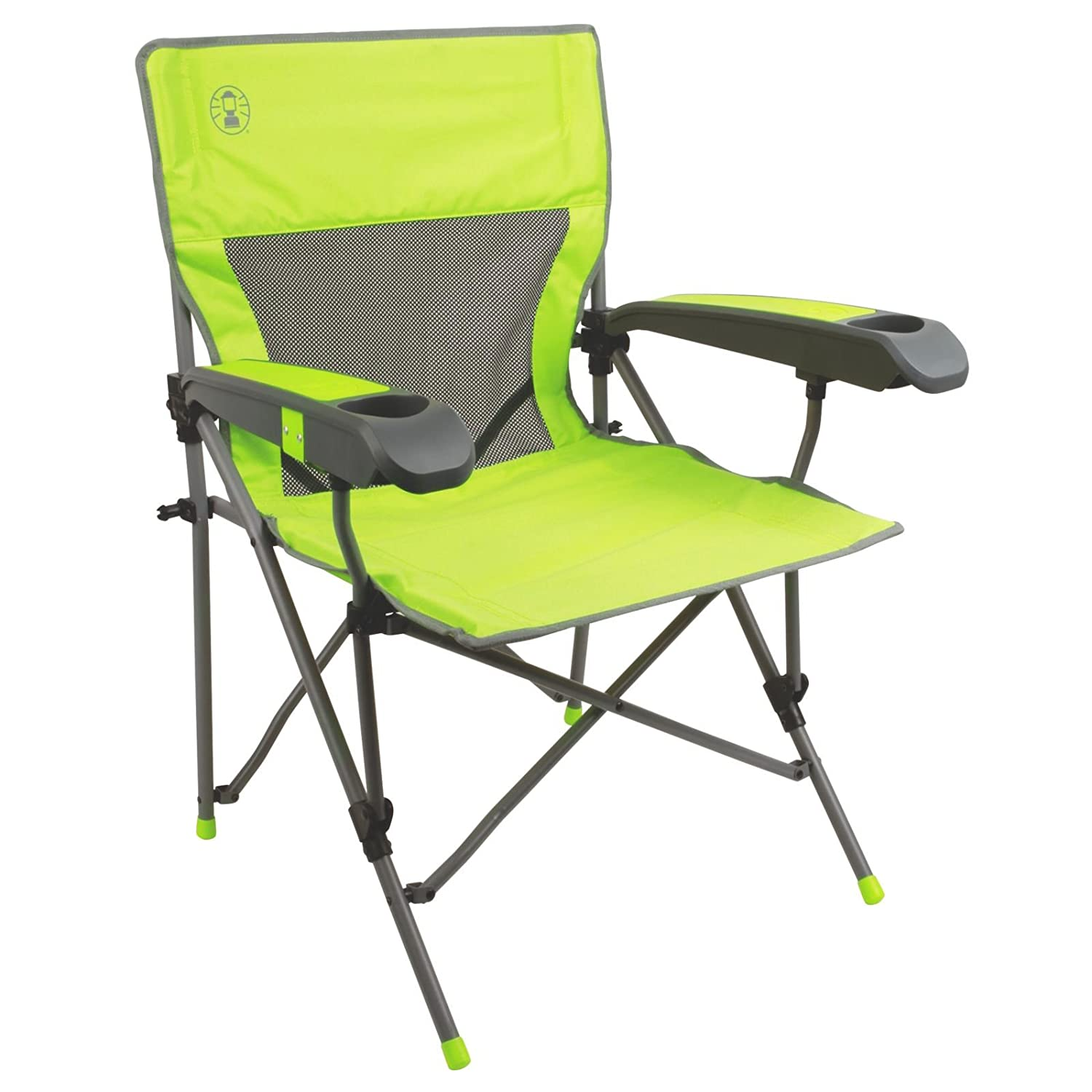 Amazon Coleman Vertex Plus Hard Arm Chair Sports & Outdoors