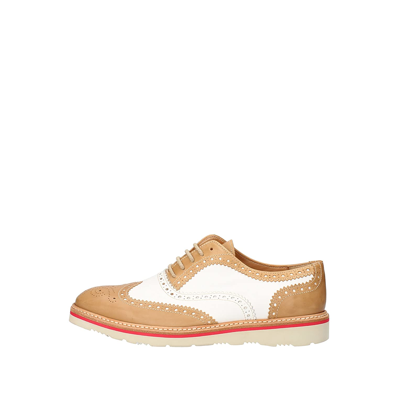 - CALPIERRE Oxfords-shoes Womens Leather White