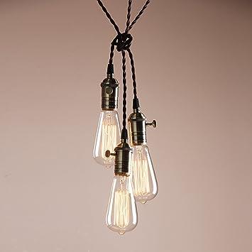 vintage ceiling lighting. Buyee Deco Cluster 13 Vintage Ceiling Light Antique Lampholder Hanging Lamp Retro Pendant Lighting E