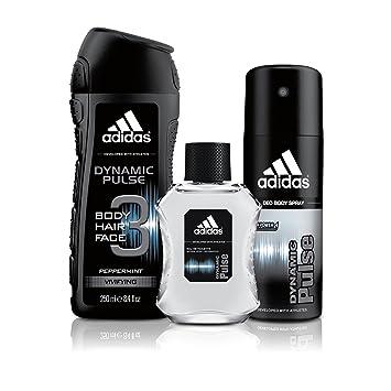 watch 9c275 45313 Amazon.com   Adidas Fragrance Dynamic Pulse 3 PC - 8.4 oz Body Wash, 1.7 oz  Eau de Toilette, 4.0 oz Body Spray   Beauty