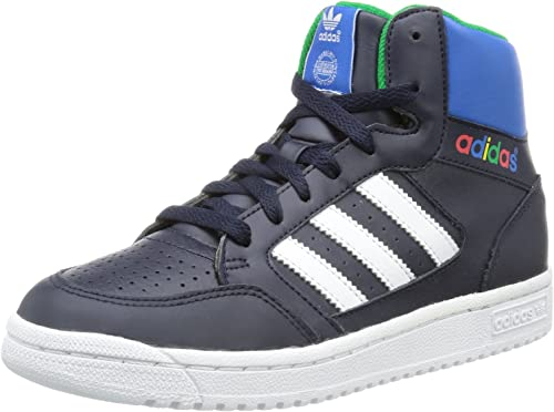 adidas Pro Play, Zapatillas Altas para Niños, Azul-Blau (Running White FTW/Legend Ink S10/Fairway), 32 EU: Amazon.es: Zapatos y complementos