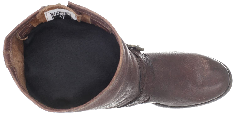 FRYE Women's Veronica Brown Short Boot B006O0L5VS 7.5 B(M) US|Dark Brown Veronica Stone Antiqued-78575 0f8459