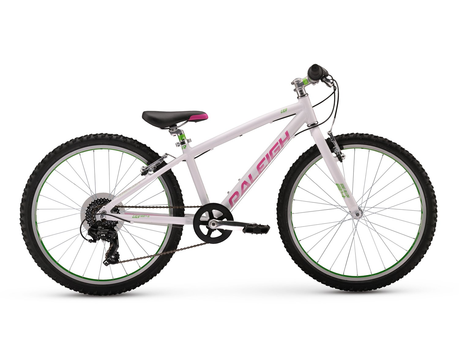 """Raleigh 2017 Lily 24 Road Bike White 24/"""""""