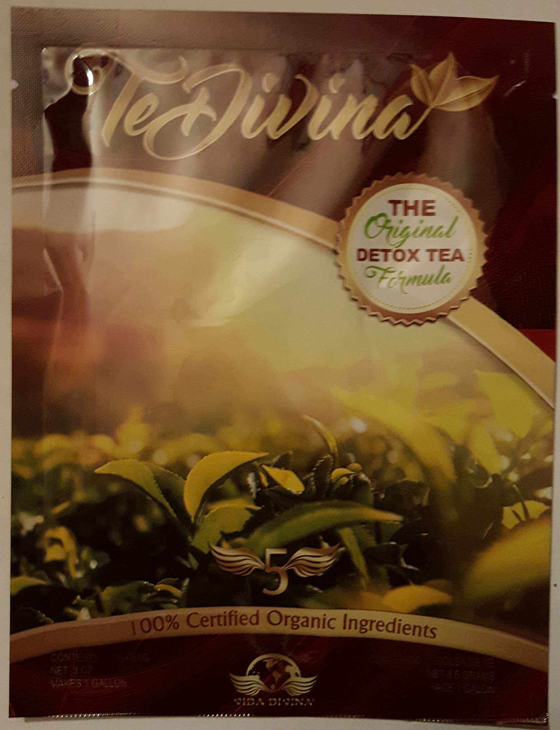 Best Seller Authentic,In stock,TeDivina 6 weeks supply supply,coming back of the''ORIGINAL''detox tea, way more effective than iaso tea by Vida Divina Te Divina