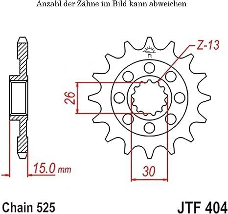 Ritzel 17 Zähne Für S 1000 Rr Abs Baujahr 2009 2016 Von Jtsprockets Auto