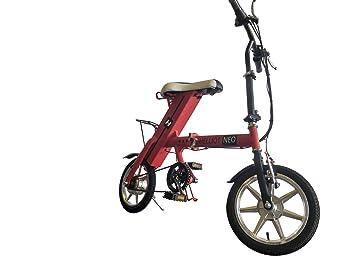 Helliot Bikes Daytona Bicicleta Eléctrica Plegable, Unisex Adulto, Blanco, Talla Única