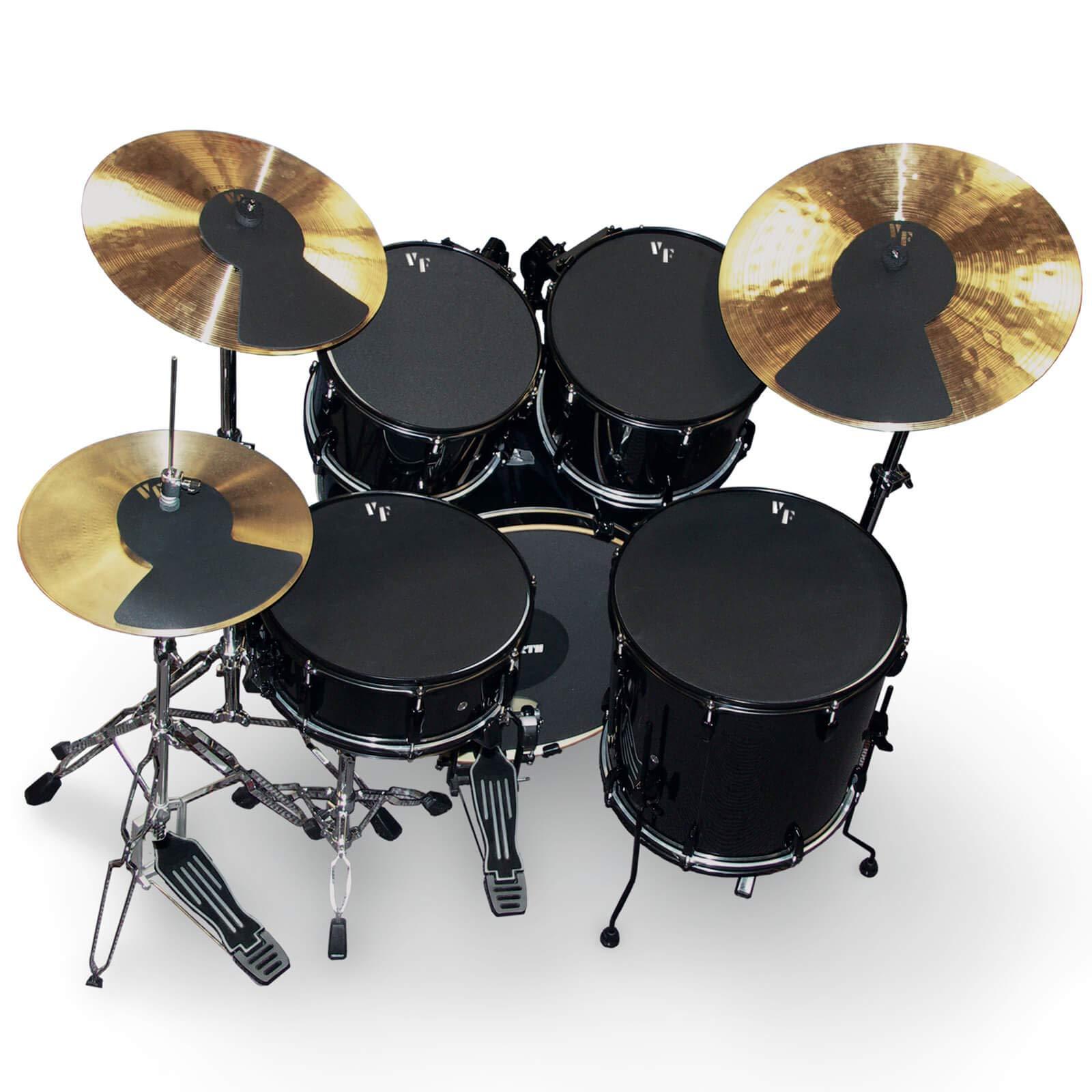 """Vic Firth Vic Firth Mute Prepack w/ 12"""", 13"""", 14"""", 16, 22, Hi-Hat And Cymbal (2)"""