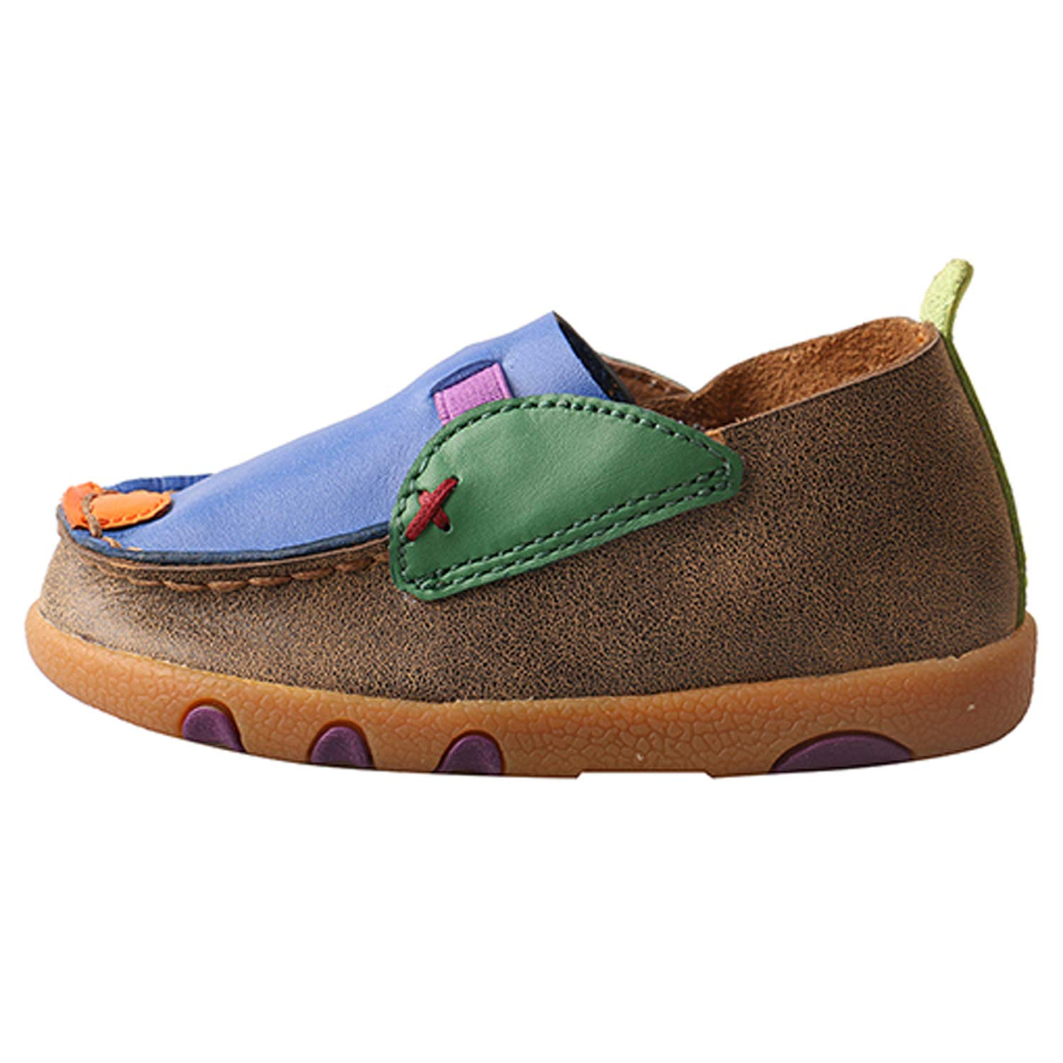 Twisted X ICA0002 Infants Driving Moccasins Shoes