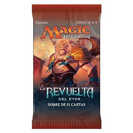 Amazon.com: Magic The Gathering La revuelta del éter Booster ...