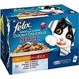 PET-25240 Felix Como bien como se ve doblemente delicioso Superior Carne Variedad 12Pack (