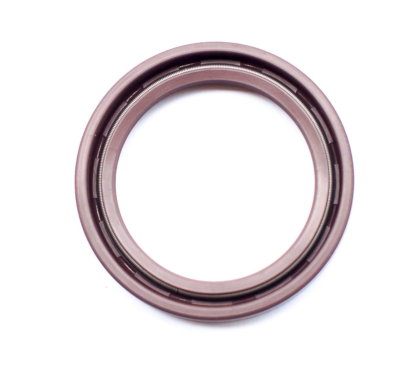 Oil Seal 35X47X7 (10 PCS) Viton Oil Seal Grease Seal TC |EAI Rubber Double Lip w/Garter Spring 35mmX47mmX7mm | 1.378''x1.850''x0.276'' by EAI (Image #2)