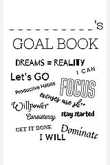 My Goal Book Kindle Edition
