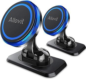 2-Pack Allovit Universal Adjustable Magnetic Car Phone Mount