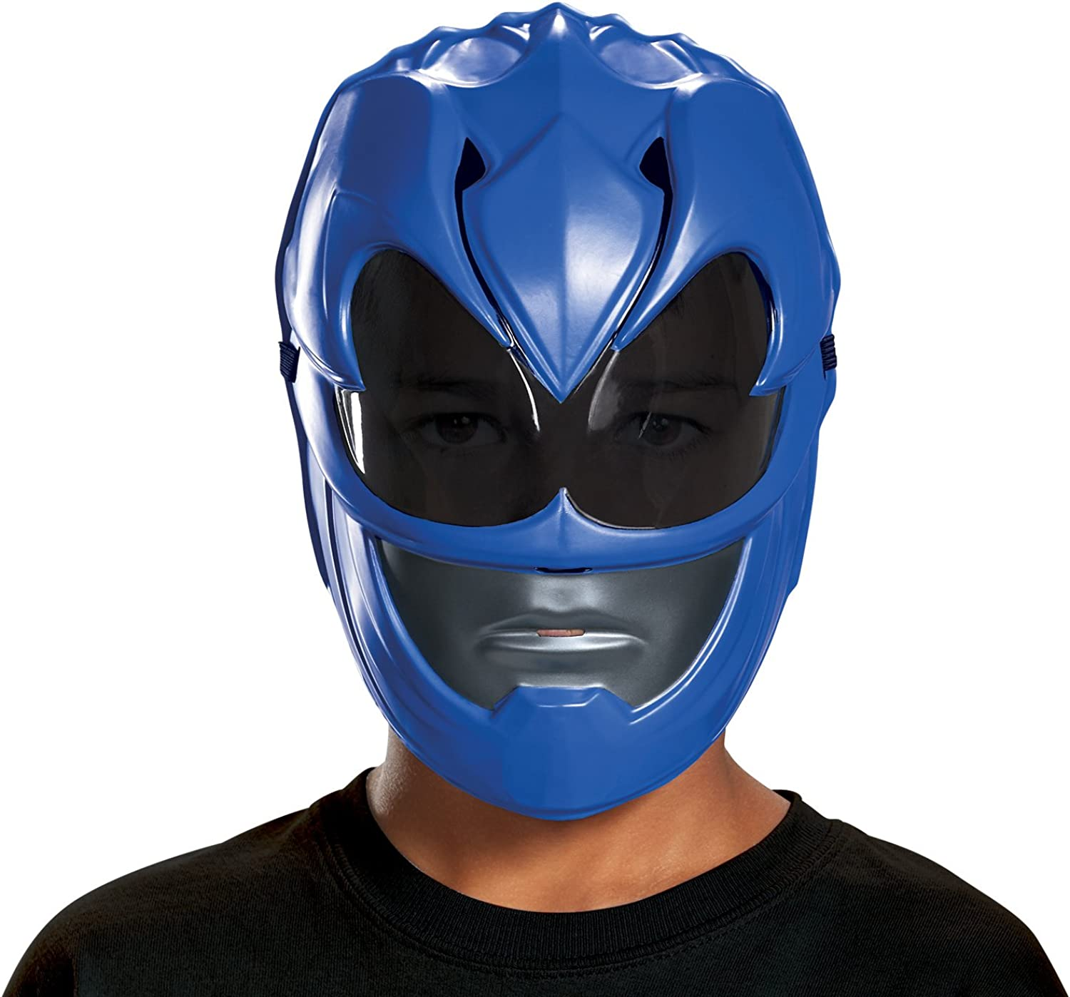 Amazon Com Disguise Blue Power Ranger Movie Mask One Size Toys Games