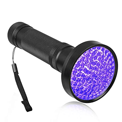 EEEKit UV Flashlight Black Light, 410 nM Ultraviolet Blacklight Detector for Organic Waste, Pet
