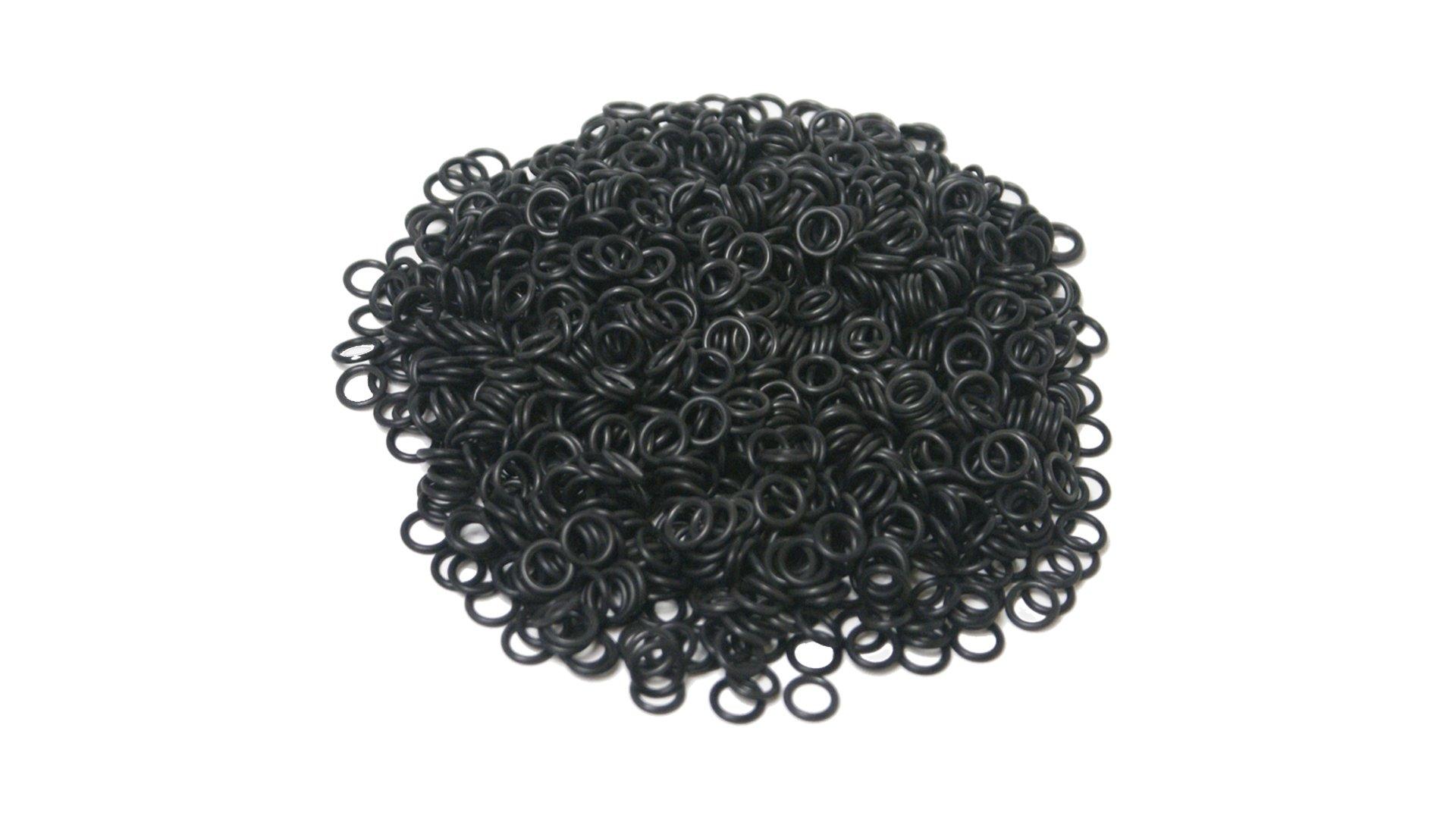 Sterling Seal OR90BLKBUN113X250 113 BUNA/NBR O-Ring, Nitrile, 90 Durometer Hardness (Pack of 250)