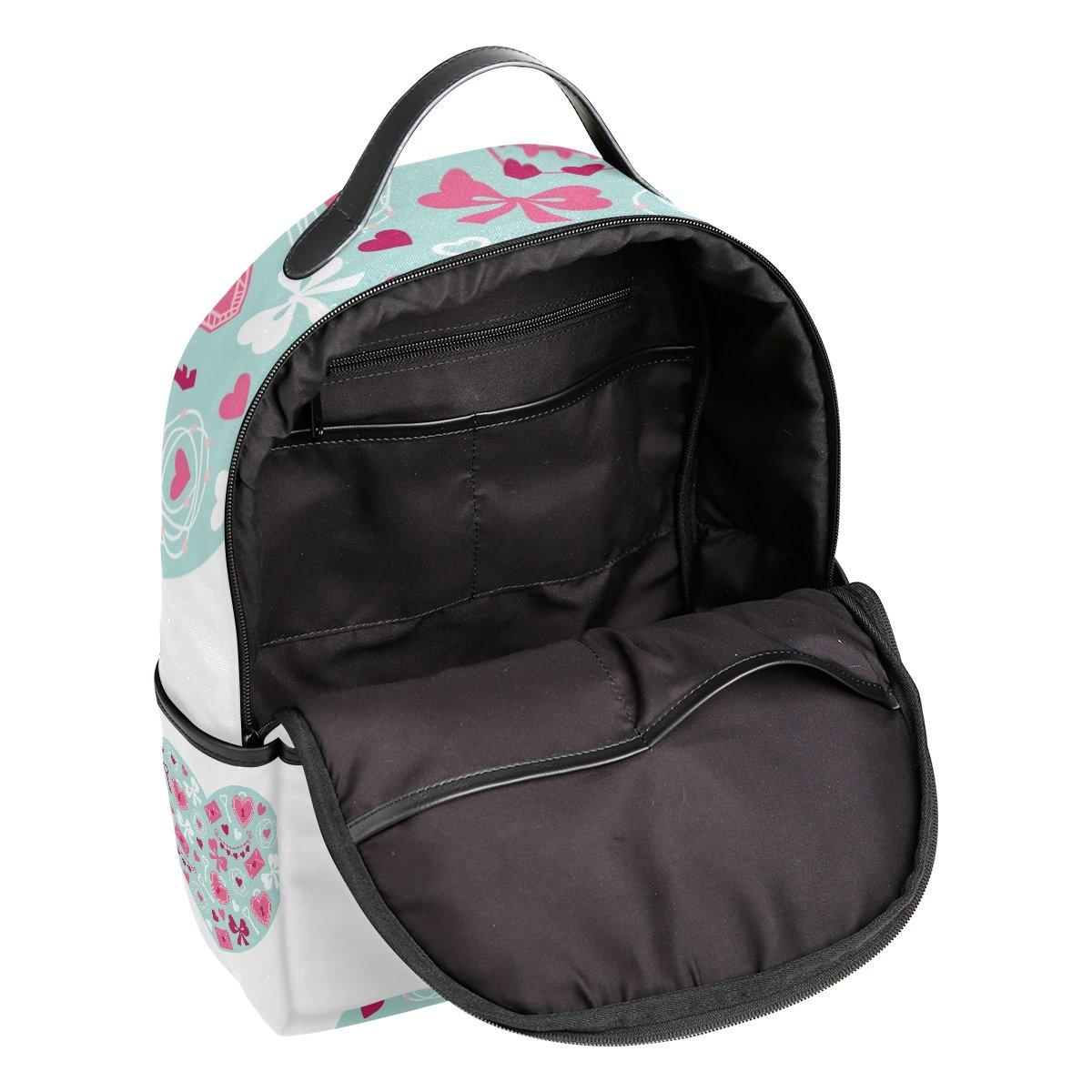 3dbd63160229 Amazon.com | JSTEL Heart Gift Butterfly School Backpacks for Boys ...