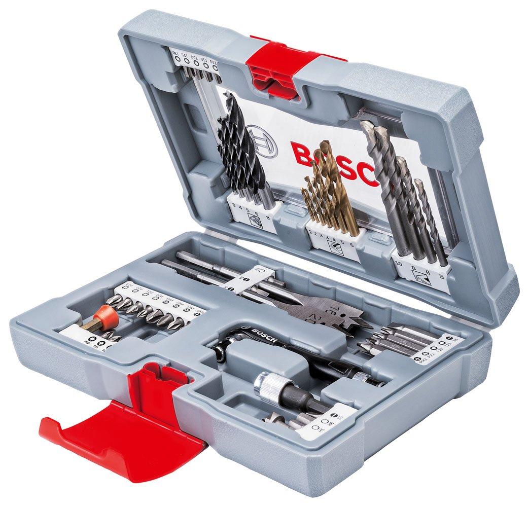 Bosch 49-tlg. Premium X-Line Bohrer-Set Schrauber-Set Bit-Set Bohrer 2608P00233