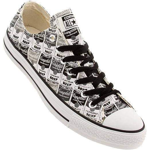 Converse Men Chuck Taylor All Star Low Ox - Warhol (black / white / mason
