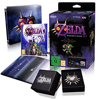 the legend of zelda majoras mask special edition 3ds game amazon co