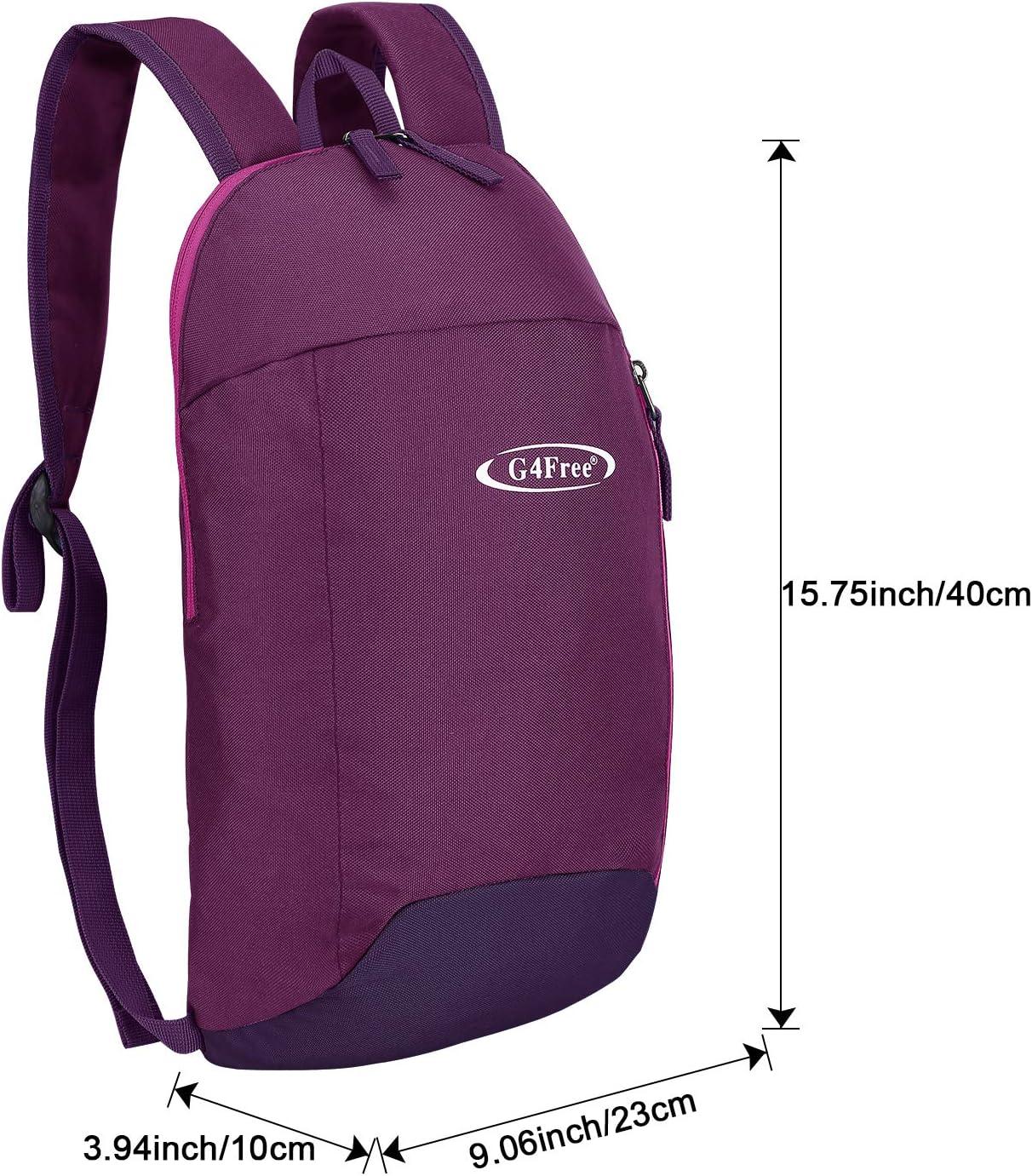 G4Free 10L Mochila al Aire Libre Mochila Multiprop/ósito Mochila Peque/ña para Caminar Mini Mochilas para Adultos y Adolescentes