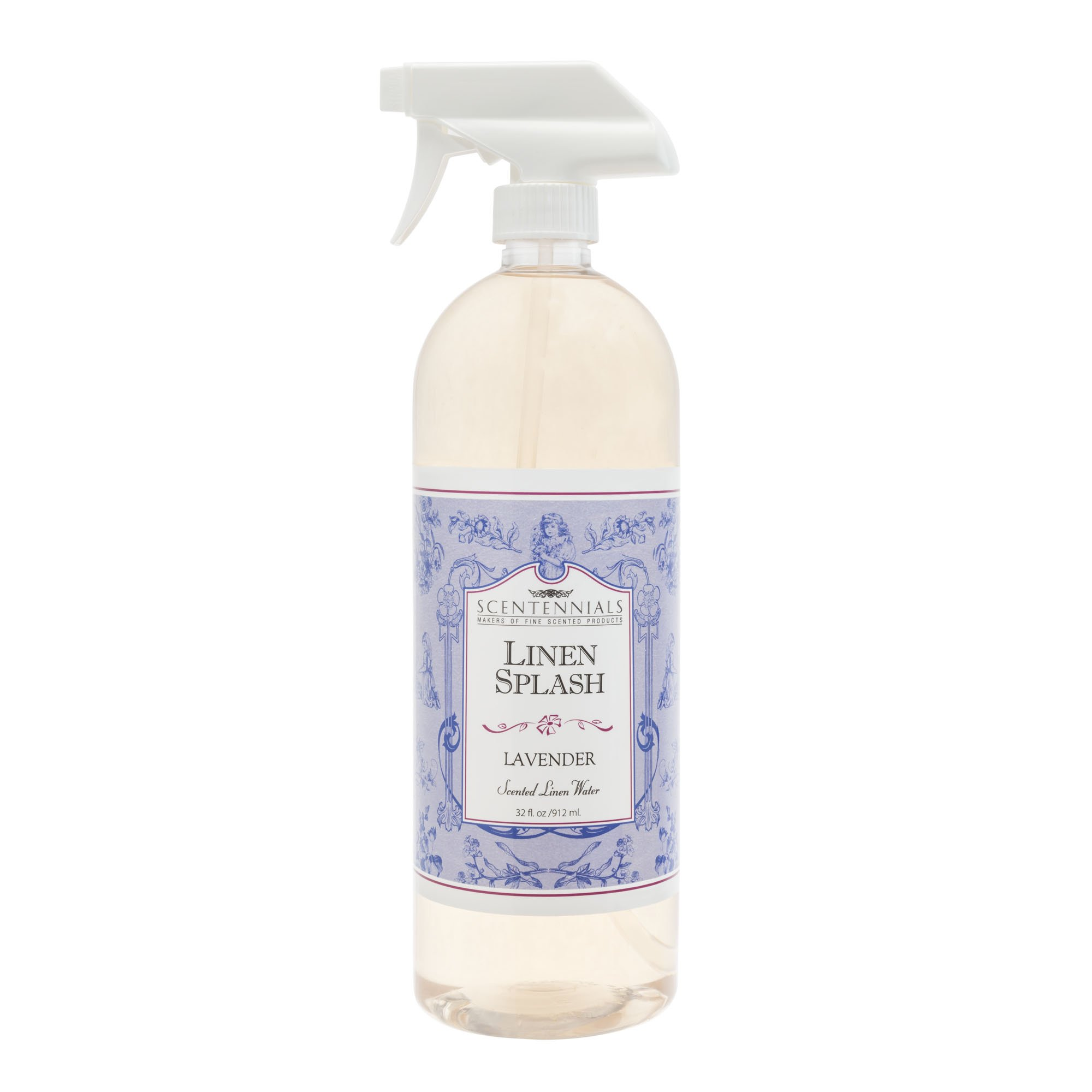 Scentennials Linen Splash LAVENDER 32oz - A MUST HAVE for all your linens, laundry basket or just spray around the house.