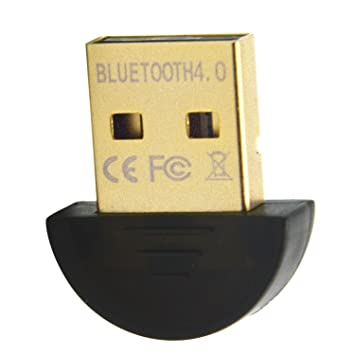 Mini USB Bluetooth V4.0 Dongle RSE de Doble Modo inalámbrico Adaptador Universal Plug para