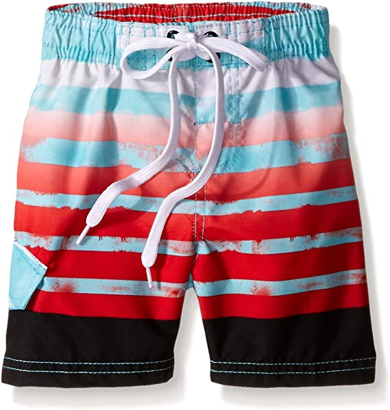 Kanu Surf Boys Reflection Quick Dry UPF 50 Beach Swim Trunk
