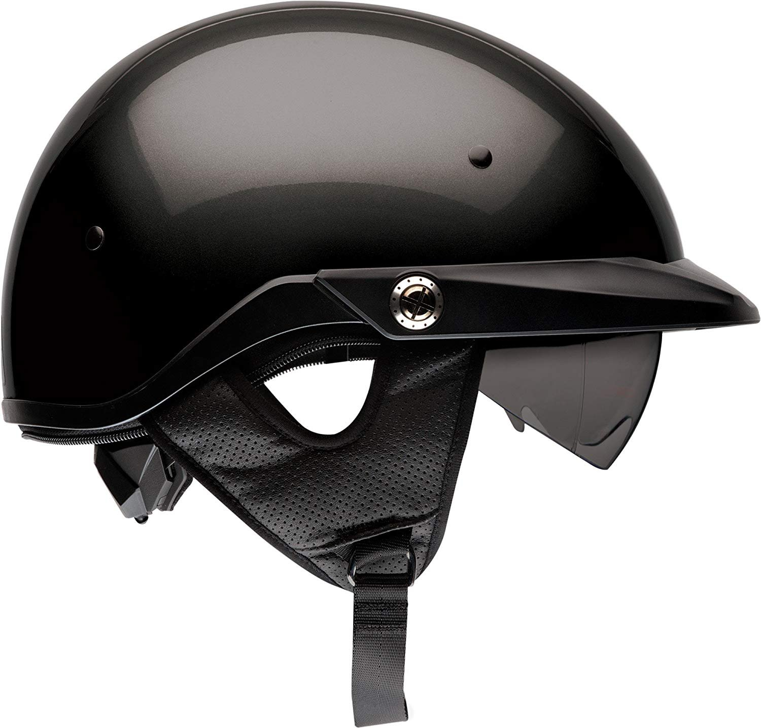Amazon.com: Bell Pit Boss Open-Face Motorcycle Helmet (Solid Black, Medium): BELL: Automotive