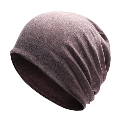 0be60be12ea EDTara Knitted Cotton Cap Unisex Stylish Knitted Cotton Cap Solid Color  Warm Beanie Prevent Cold Wind