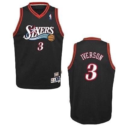 wholesale dealer 95d4b 0dc2e Amazon.com : Outerstuff Allen Iverson Philadelphia 76ers #3 ...