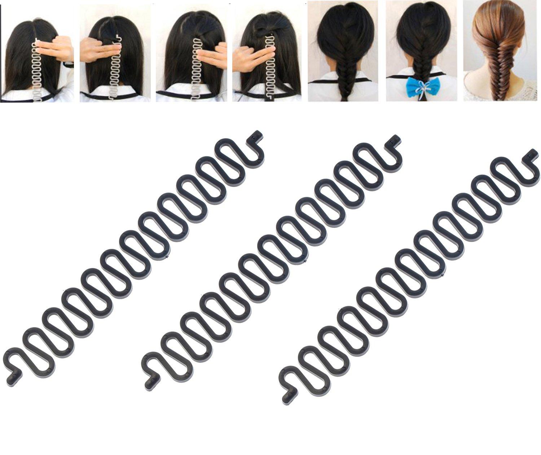 3 Magic Hair Braiding / Hairstyling Braiders Set VAGA