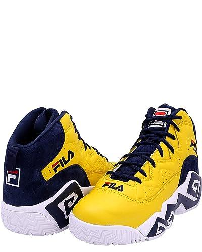 Fila Men's MB Heritage Sneaker,Yellow