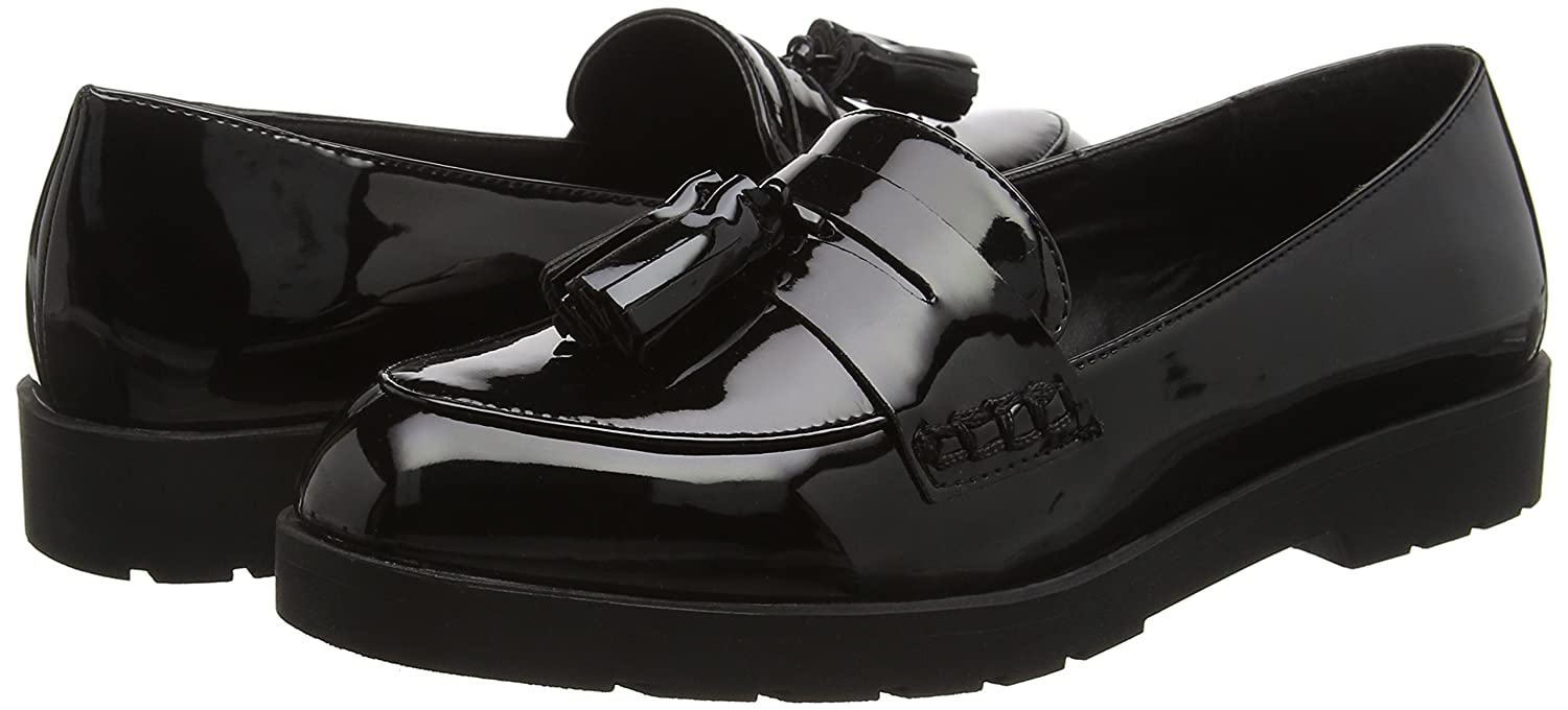 New Look Light - Mocasines para mujer, color negro (black/01), talla 42 EU (8 UK): Amazon.es: Zapatos y complementos