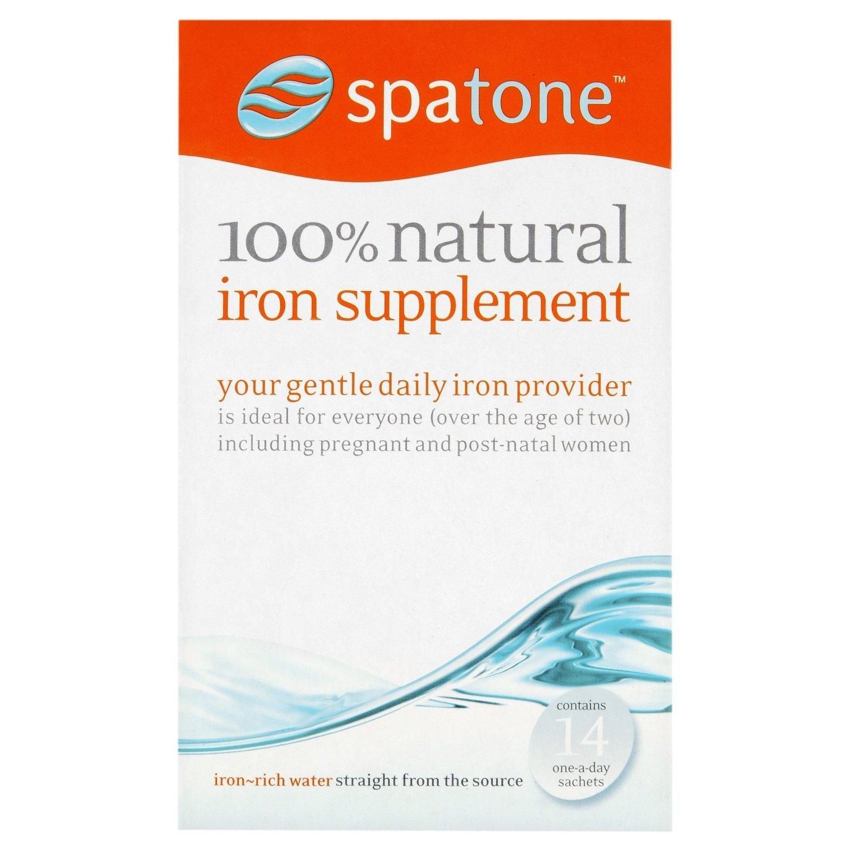 (2 Pack) - Spatone - 100% Natural Iron Supplement | 14 sachet | 2 PACK BUNDLE