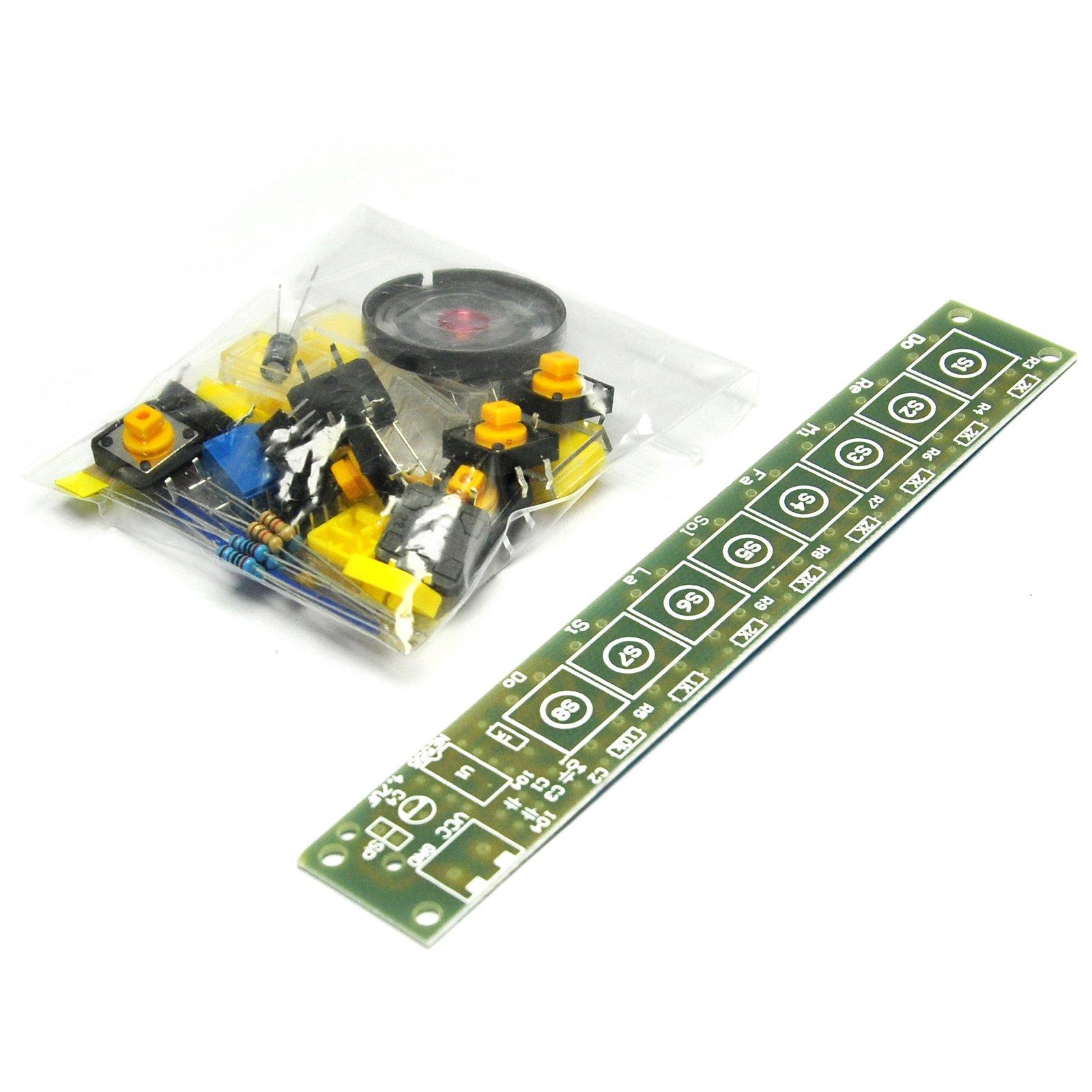 Gikfun NE555 Electronic organ DIY Scatter Diy making small invention electronic organ kit teaching kit for Arduino EK1898 by Gikfun (Image #3)