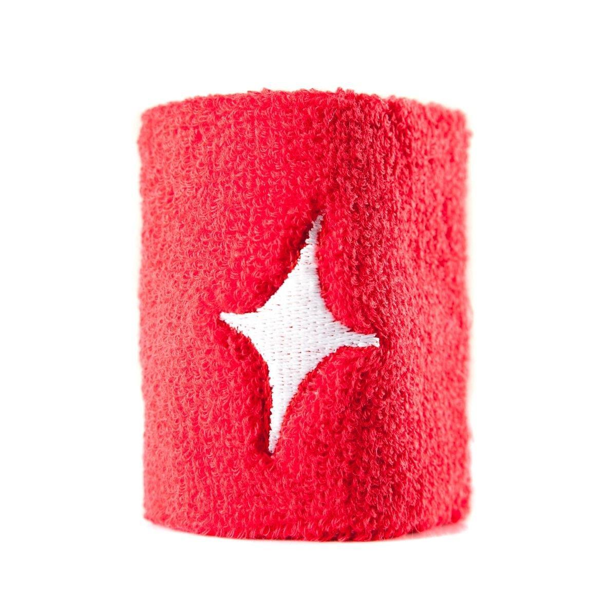 Star vie - Muñequera Roja Starvie-Pack De 2: Amazon.es: Deportes y ...