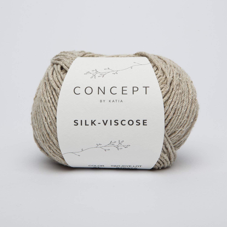 SILK-VISCOSE Garn CONCEPT by Katia 50g