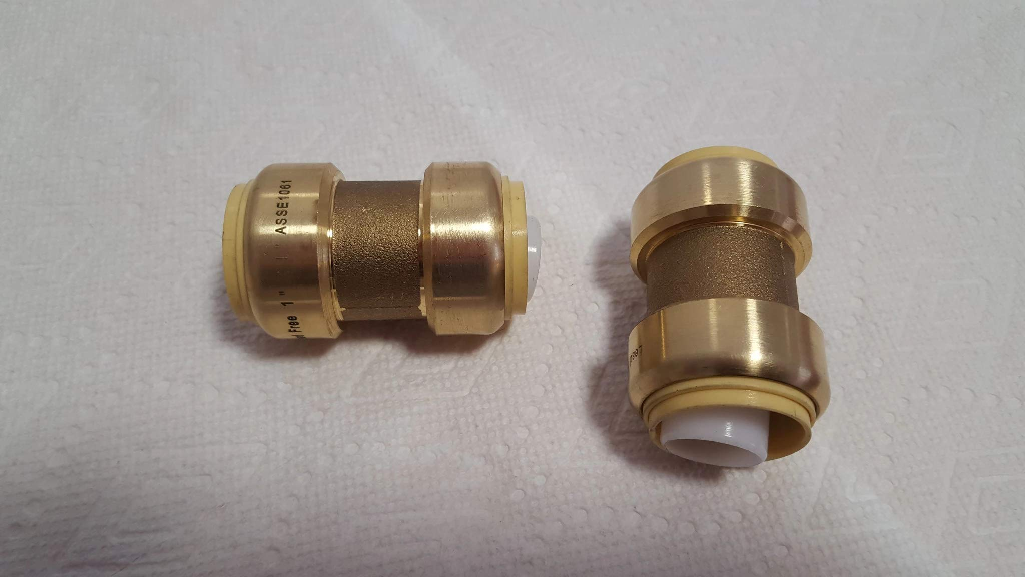 3/4'' Coupling Push Fitting~Bag of 10~Lead Free! by Badger Insulated Pipe