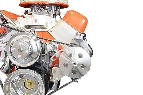 Amazon Bbc Power Steering Pump Bracket Billet Adjustable Lwp. Bbc Power Steering Pump Bracket Billet Adjustable Lwp 454 Big Block Chevy 551497. Wiring. 454 Motorhome Engine Belt Diagram At Scoala.co