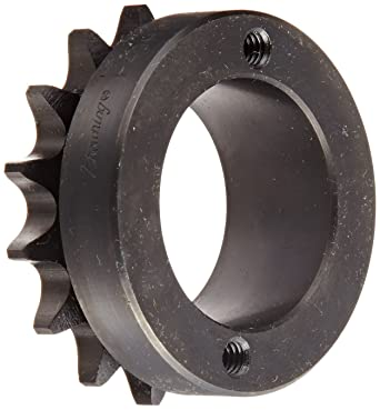 Browning H8023X 1 15//16 Finished Bore Roller Chain Sprocket Steel Single Strand 23 Teeth Regal Hardened Teeth