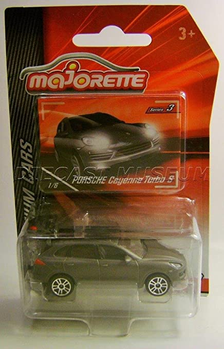 PORSCHE CAYENNE TURBO S 1/6 PREMIUM CARS MAJORETTE DIECAST CAR SERIES 3 2018