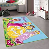 Amazon Com Huahoo Pink Rug Girls Pink Kids Rug Children S