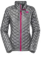 The North Face Women's Thermoball Full Zip Jacket Mid Grey (X-large)