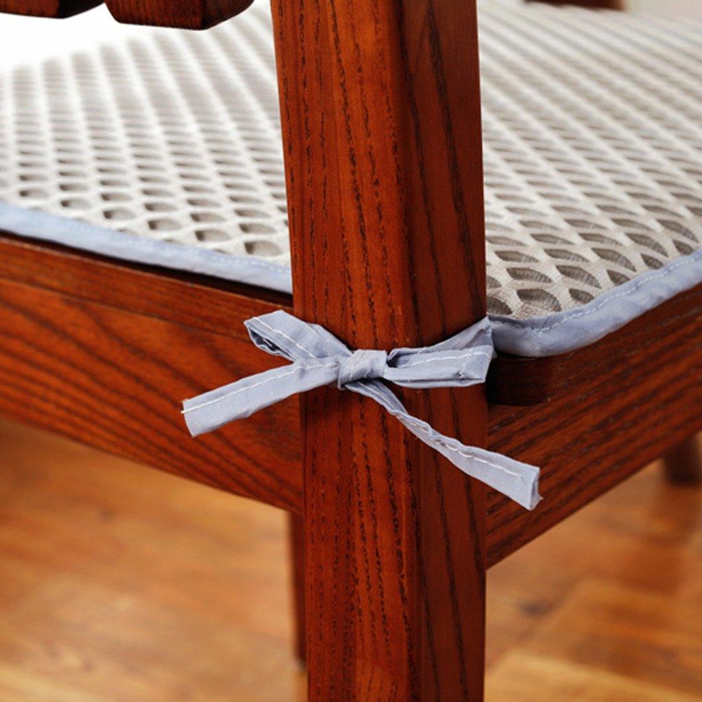 Cojín de la silla MMM MMM MMM Verano Comedor Cojines de Asiento de Oficina (Color : Caqui, Tamaño : 50  50cm) 09d94b