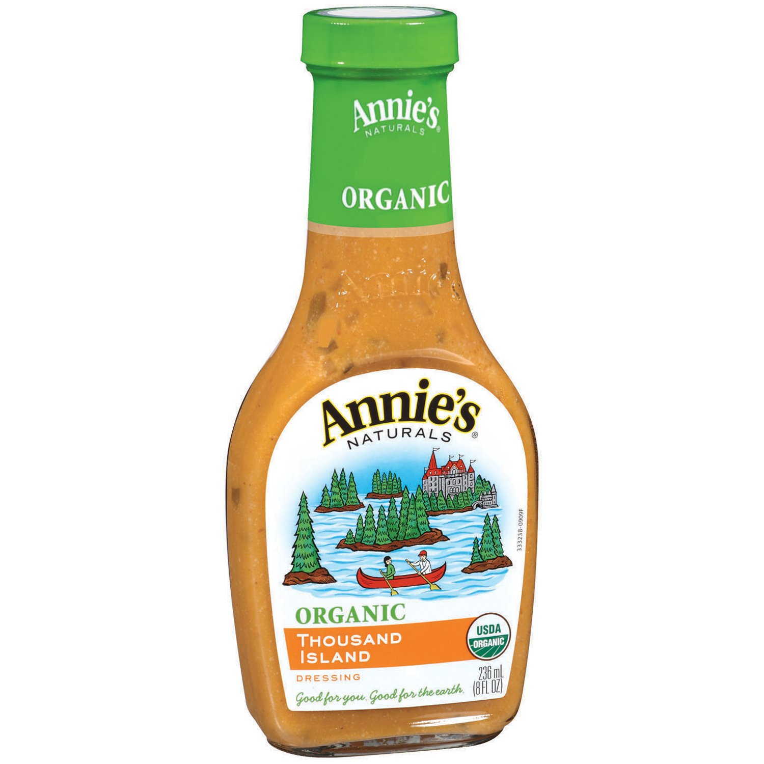 Annie's Organic Gluten Free Thousand Island Dressing 8 fl oz Bottle