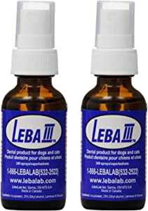 Leba III Pet Dental Spray