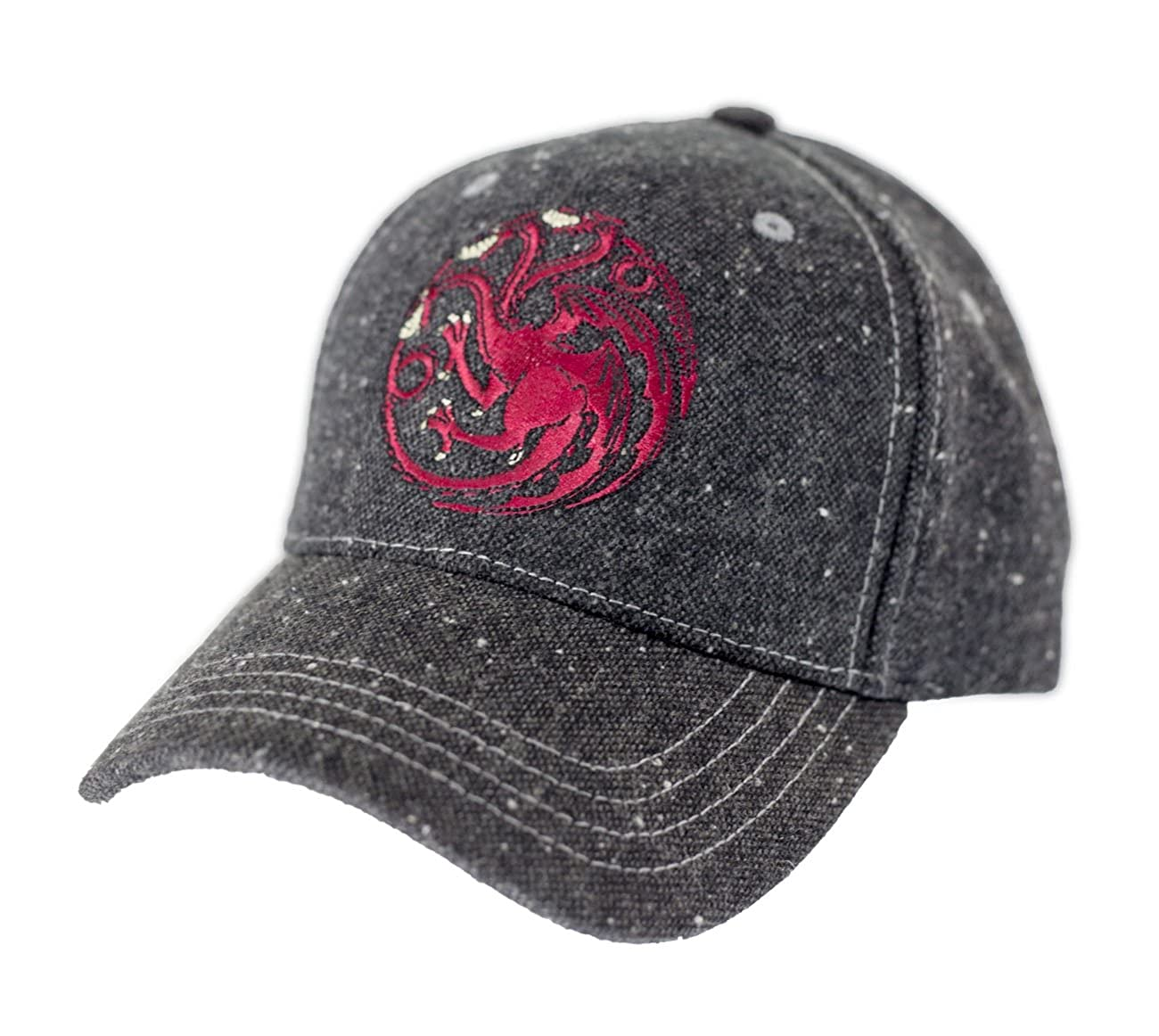 Amazon.com: Game of Thrones Flecked Fabric Premium Baseball Hat (Stark): Clothing